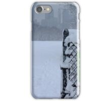 Central Park Winter NYC iPhone Case/Skin