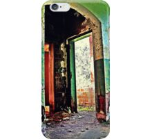 Indoor Outdoor Plumbing  iPhone Case/Skin