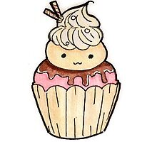 Cute Ice Cream Cupcake  by Yumii-chan