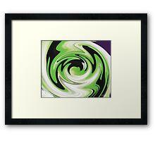 Green Is Life Framed Print