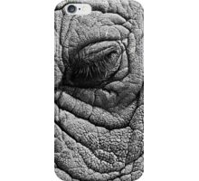 elephant sleeping eye iPhone Case/Skin
