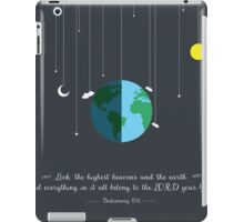 Heavens and the Earth iPad Case/Skin