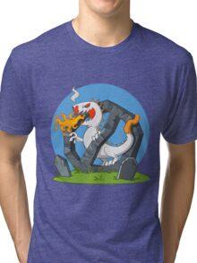 Cigarette - Monster Tri-blend T-Shirt