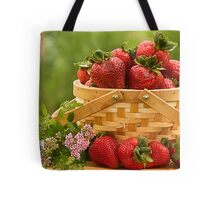 Strawberries Any one? Tote Bag
