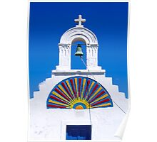 Greek church Poster