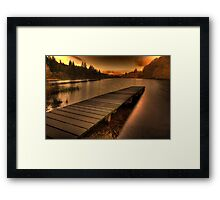 The Jetty (1) Framed Print