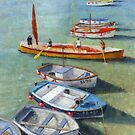 Boats of St. Ives by Stephen Mitchell