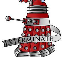 Dalek - Drone by MikeTheGinger94