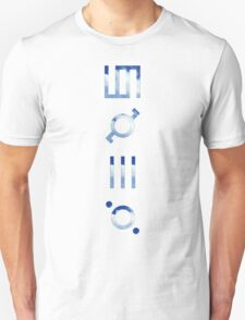 glyphics - 30 seconds to mars  Unisex T-Shirt