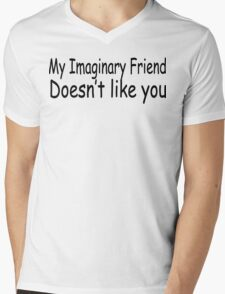 My Imaginary Friend  Mens V-Neck T-Shirt