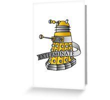 Dalek - Eternal Greeting Card