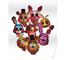 Your New Best Friends - FNAF Poster
