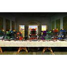 Last Supper of the Daleks by ToneCartoons