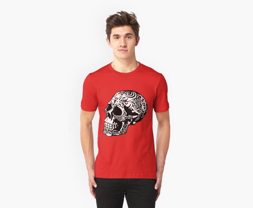 skull by Valerii Baryspolets