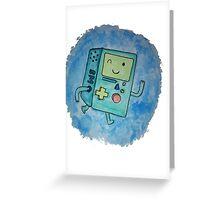 BMO - hand drawn Greeting Card
