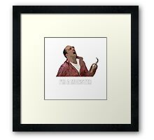 Arrested Development-Buster Framed Print