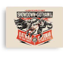 Batman v Superman  Canvas Print