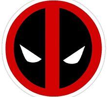 Minimalist Deadpool by kaitx