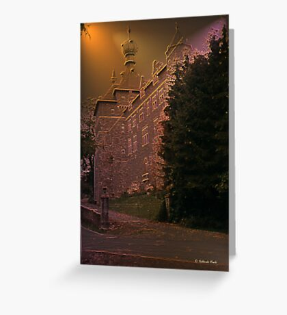 Château de Chimay - Belgium - façade arrière Greeting Card