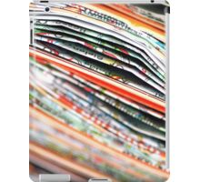 mapping the abstract iPad Case/Skin