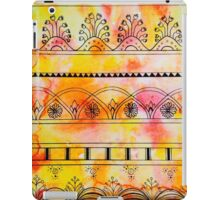 Pattern Play, Red and Yellow iPad Case/Skin
