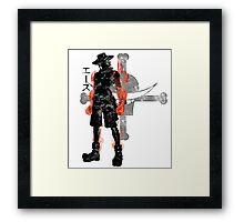 Fire Fist Framed Print