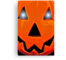 Pumpkin Face - Jack Canvas Print