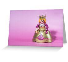 playmobil princess Greeting Card