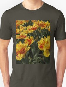 tulips flowers Unisex T-Shirt