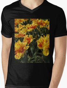 tulips flowers Mens V-Neck T-Shirt