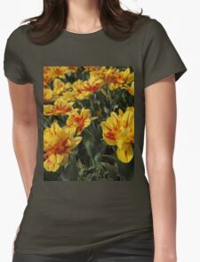 tulips flowers Womens Fitted T-Shirt