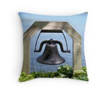 Bell at the Waters Edge Throw Pillow