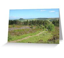 Roseberry from Captain Cook's Monument, North Yorkshire Greeting Card