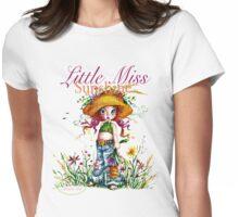 Classic: Little Miss Sunshine - for pinker tees Womens Fitted T-Shirt