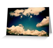Last Sky Greeting Card