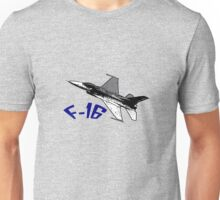 USAF - F16 Fighter Unisex T-Shirt