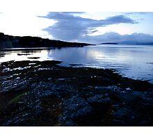 Lake Sunset in Scotland  Photographic Print