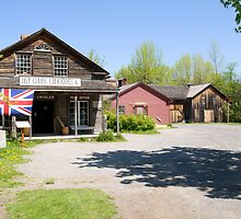 General Store and Post Office, Upper Canada Village, Ontario by Mike Oxley