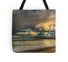 Evening Storm Passing By Tote Bag