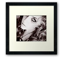 swing your heartache Framed Print