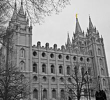 LDS Temple by Tracy DeVore