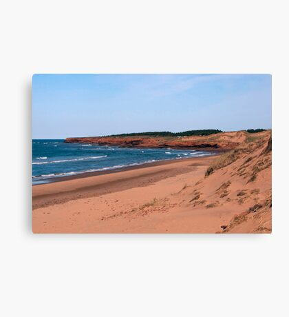 Cavendish Beach Canvas Print