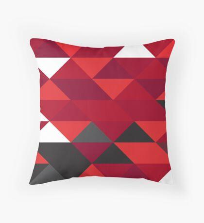 Ferrari F1 Geometric Print Throw Pillow