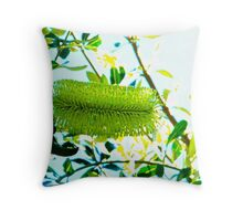 Australian flower  Throw Pillow