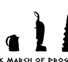 Dalek March of Progress Sticker