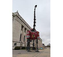 Chicago Blackhawks Dinosaur Photographic Print