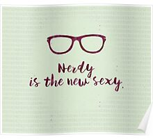 Nerdy - the new Sexy Poster
