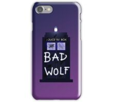 Bad Silence 2 iPhone Case/Skin