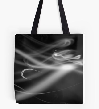 White Ribbon Tote Bag