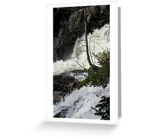 Rainbow Falls Provincial Park - Ontario Greeting Card